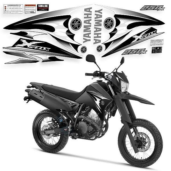 Faixa lander 250 x preto com branco