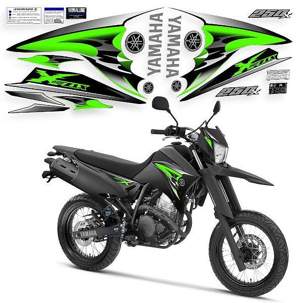 Faixa lander 250x preto / verde 2