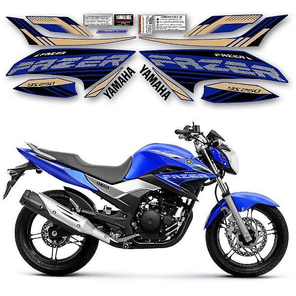 FAIXA Yamaha fazer 250 azul