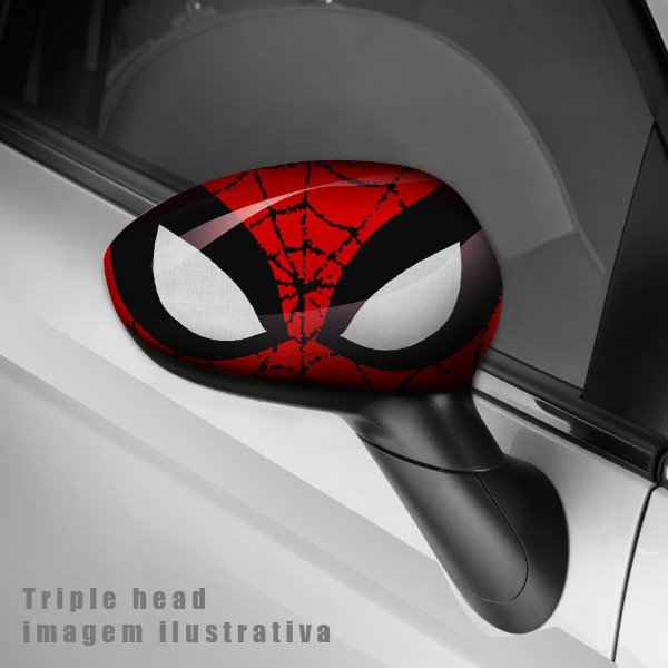 Spiderman envelopamento retrovisor