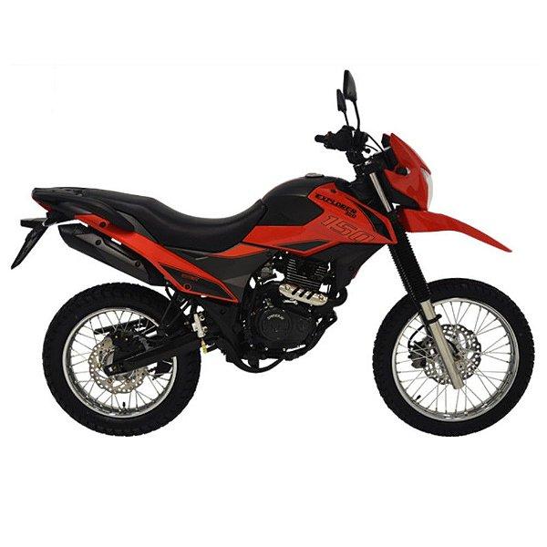 Faixa Shineray New Explorer 150cc  vermelha