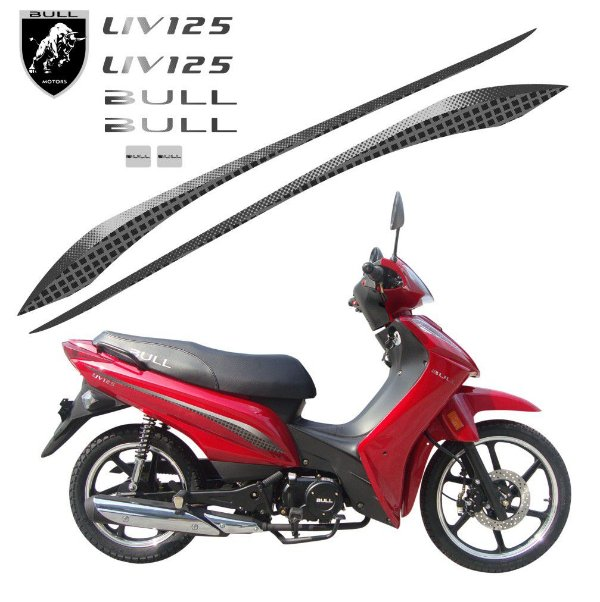 Faixa Bull LIV 125cc