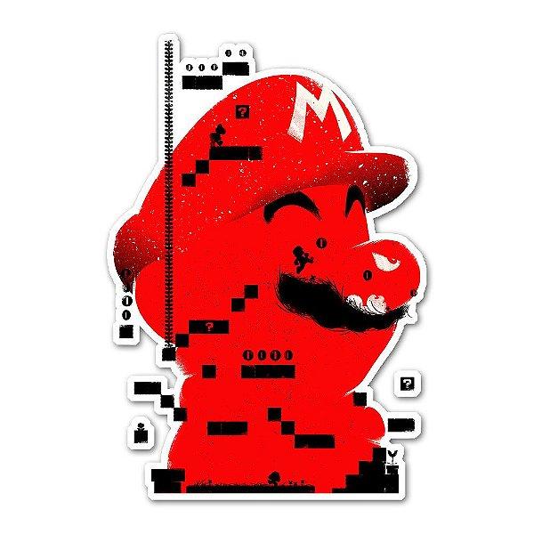 Mario concept sticker