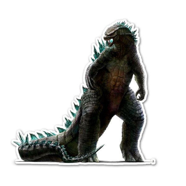 Godzilla The King of the Monsters sticker