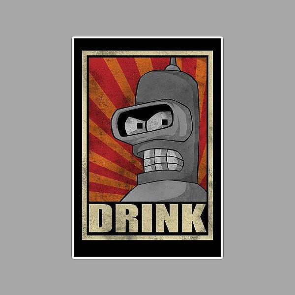 Bender drink Sticker