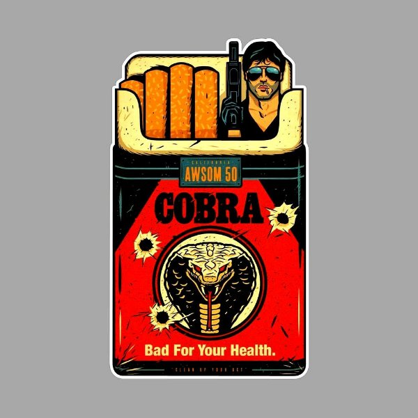 Cobra stallone Sticker