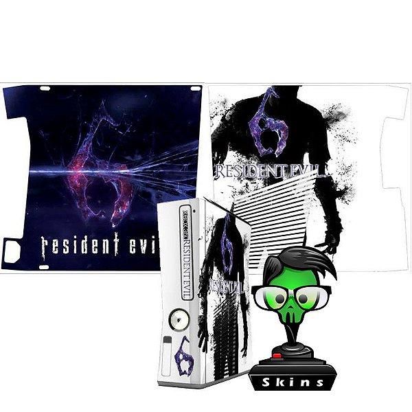 Skin xbox 360 slim Resident evil 6