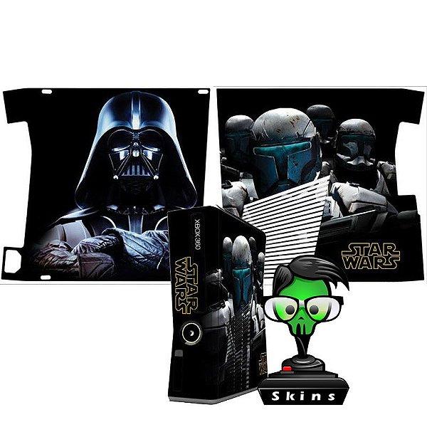 Skin xbox 360 slim Star Wars Darth Vader