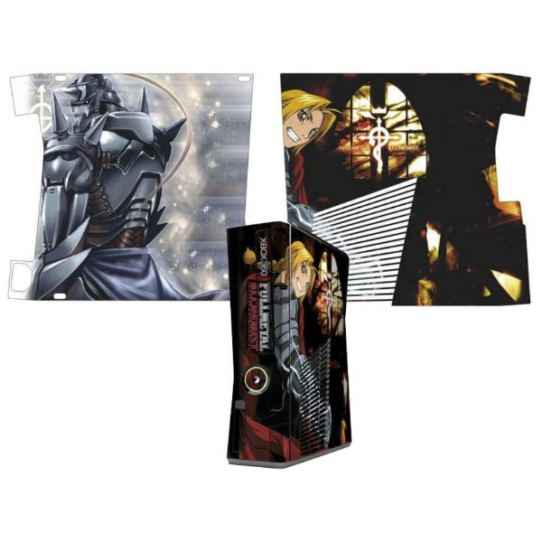 Skin Console XBOX 360 Slim Fullmetal Alchemist