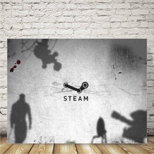 Steam Placa mdf decorativa