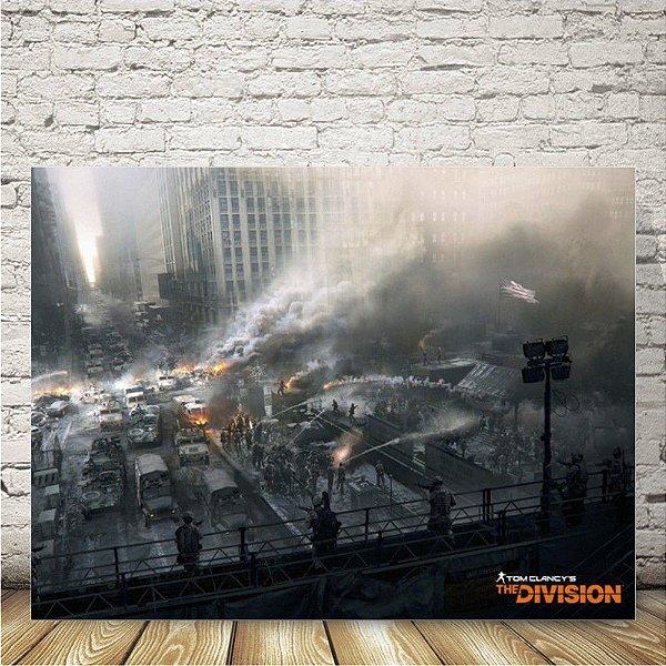 The Division Placa mdf decorativa