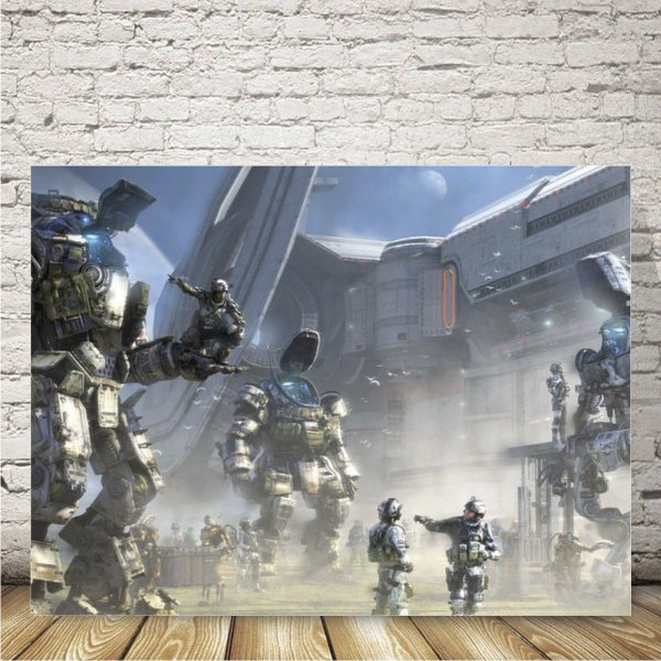 Titanfall Placa mdf decorativa
