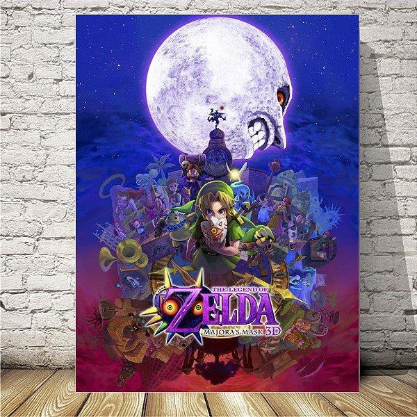 Zelda majora´s mask Placa mdf decorativa