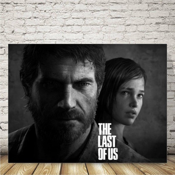 The Last os Us Placa mdf decorativa
