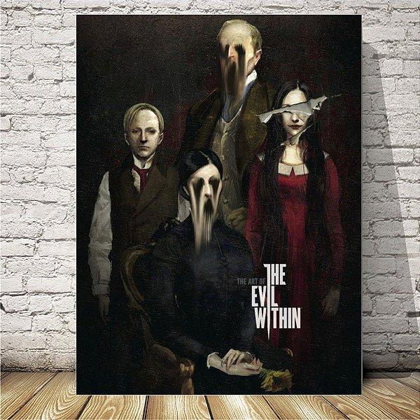 The Evil Within Placa mdf decorativa