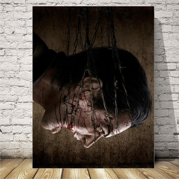 The Evil Within Placa mdf decorativa