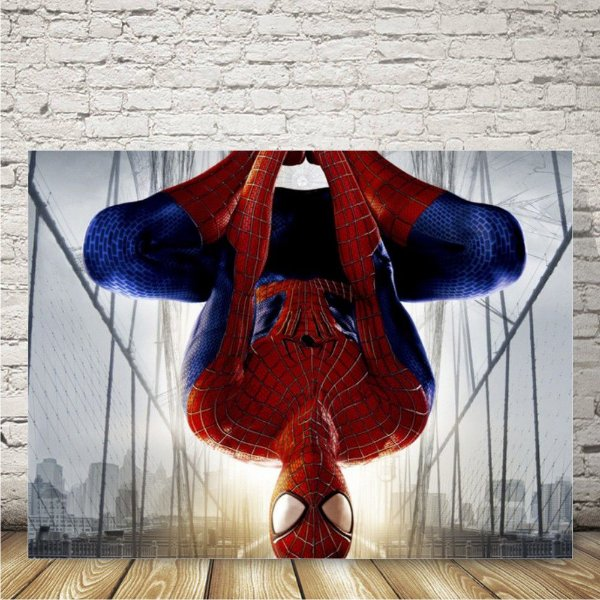 Spiderman Placa mdf decorativa