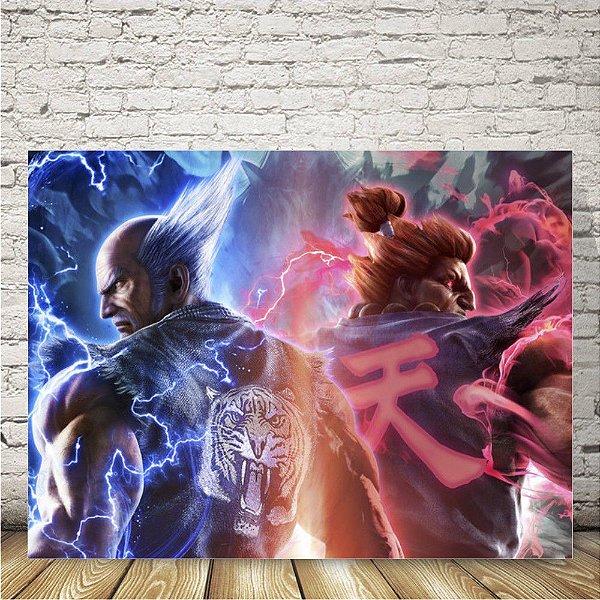 Tekken Placa mdf decorativa