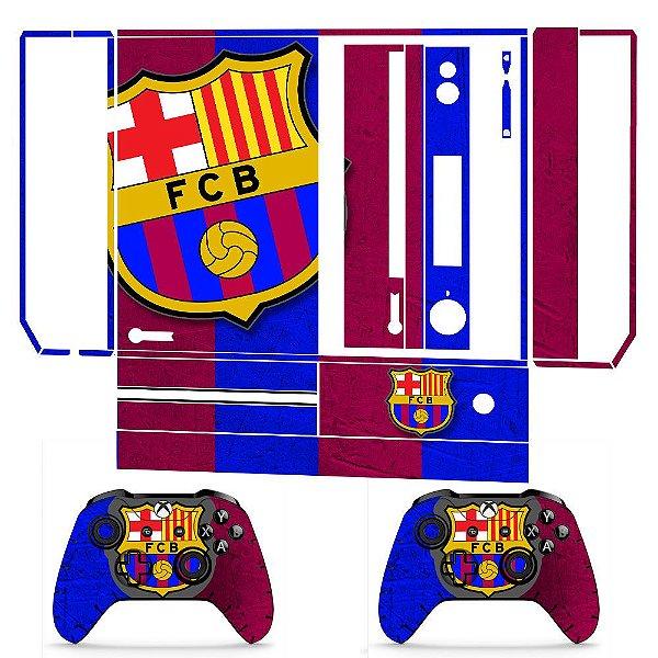 Skin adesivo xbox one fat Barcelona FC