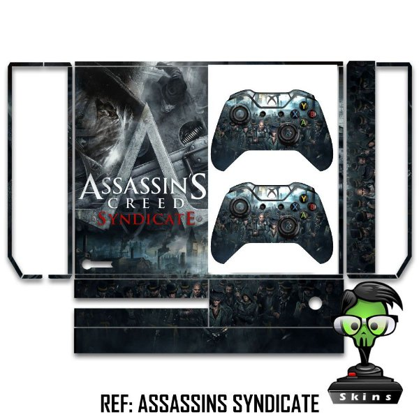 Adesivo skin xbox one fat Assassins creed Syndicate