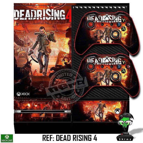 Adesivo skin xbox one fat Dead Rising
