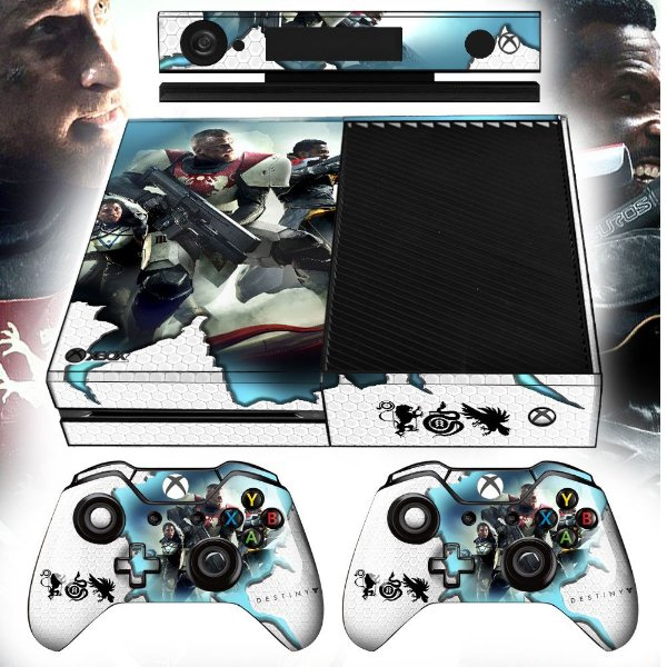 Adesivo skin xbox one fat Destiny 2
