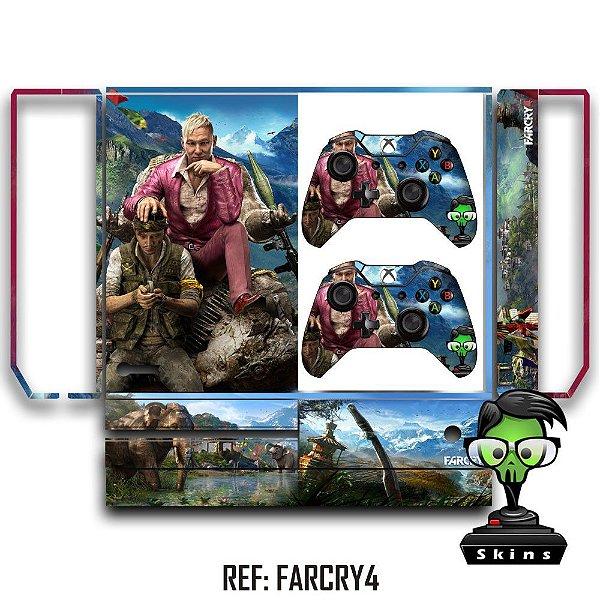 Adesivo skin xbox one fat Farcry4