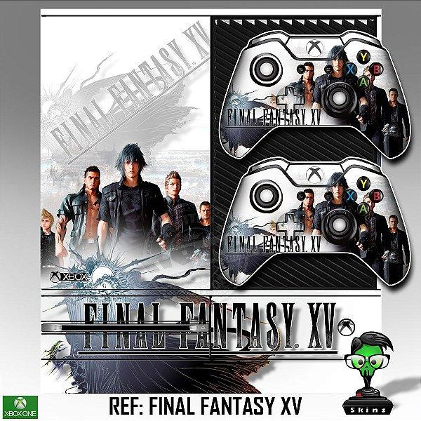 Adesivo skin xbox one fat Final fantasy 15