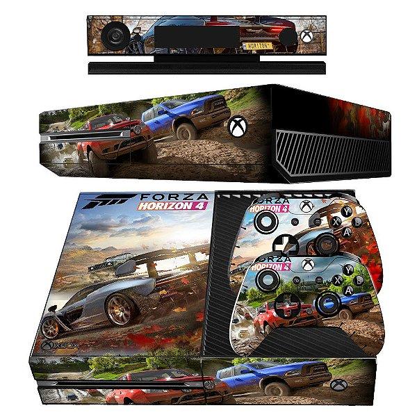 Adesivo skin xbox one fat Forza horizon 4