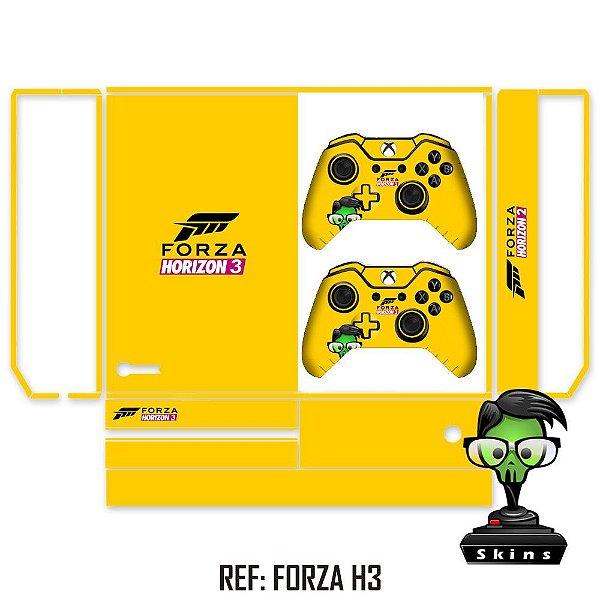 Adesivo skin xbox one fat Forza h3