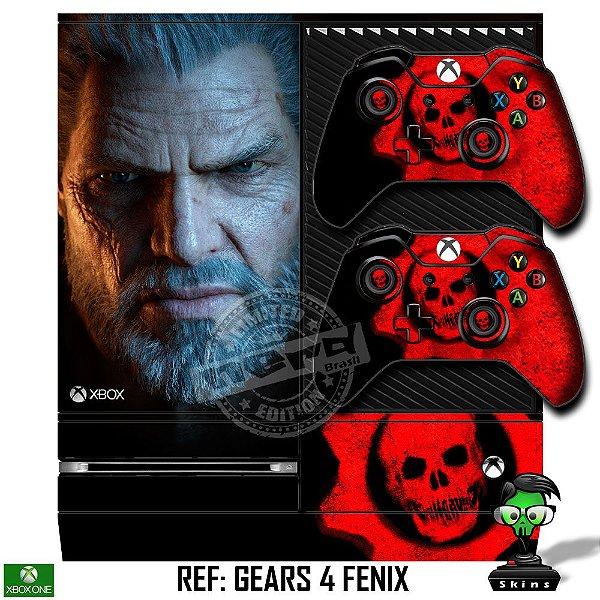 Adesivo skin xbox one fat Gears 5