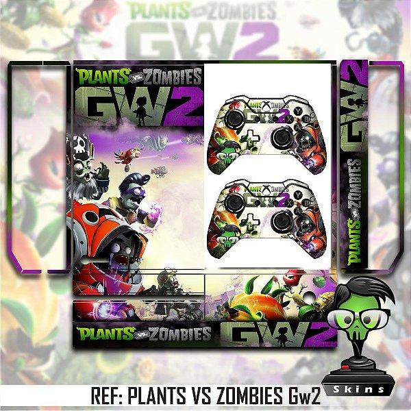 Adesivo skin xbox one fat plants vs zombies gw2