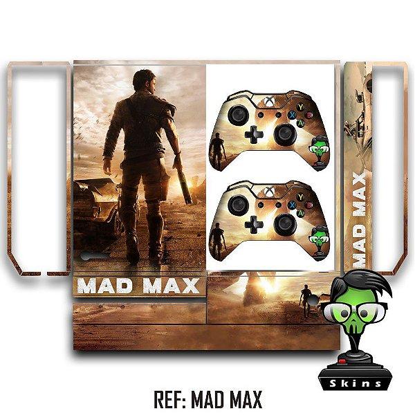 Adesivo skin xbox one fat Mad Max