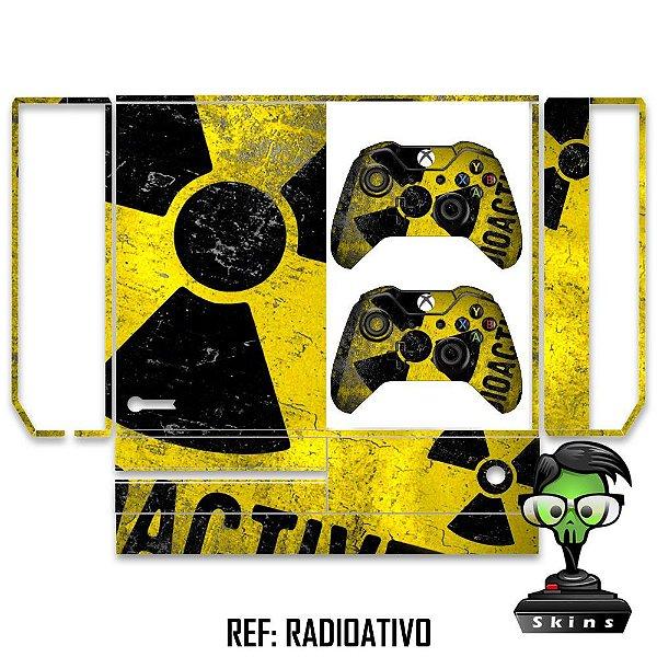 Adesivo skin xbox one fat Radioativo