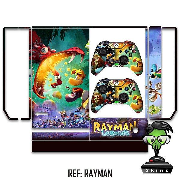 Adesivo skin xbox one fat Rayman