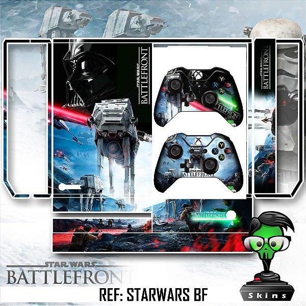 Adesivo skin xbox one fat Starwars battlefront