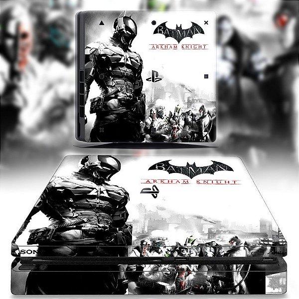 adesivo skin ps4 slim Batman Arkham knights