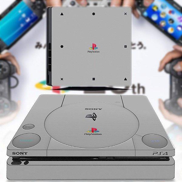 adesivo skin ps4 slim Playstation