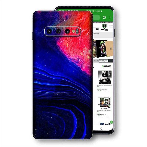 Skin adesivo Samsung Galaxy S10 textura 10