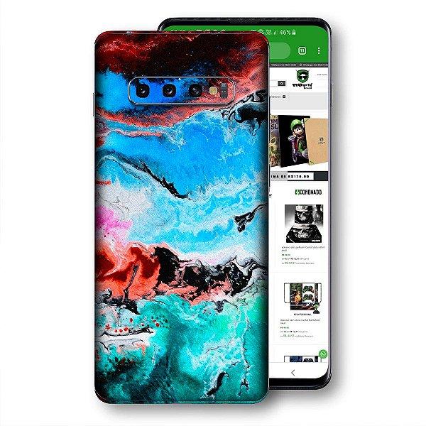 Skin adesivo Samsung Galaxy S10 textura 19