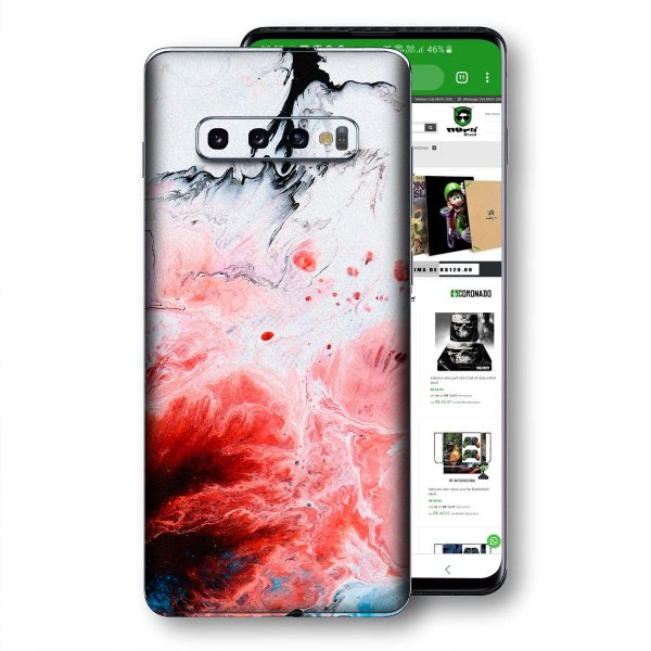 Skin adesivo Samsung Galaxy S10 textura 20