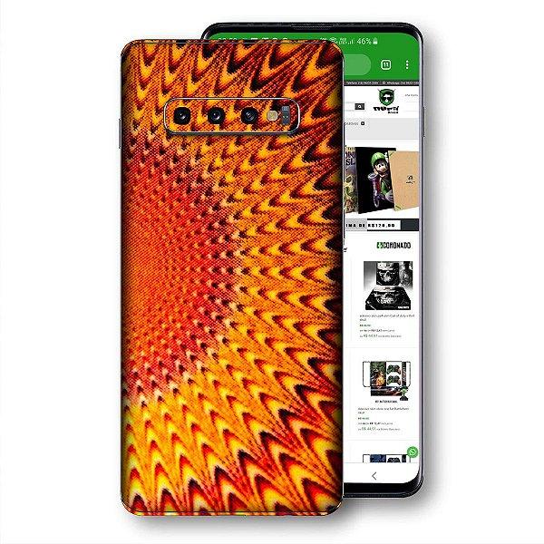 Skin adesivo Samsung Galaxy S10 textura 27