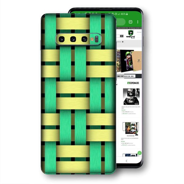 Skin adesivo Samsung Galaxy S10 textura 31