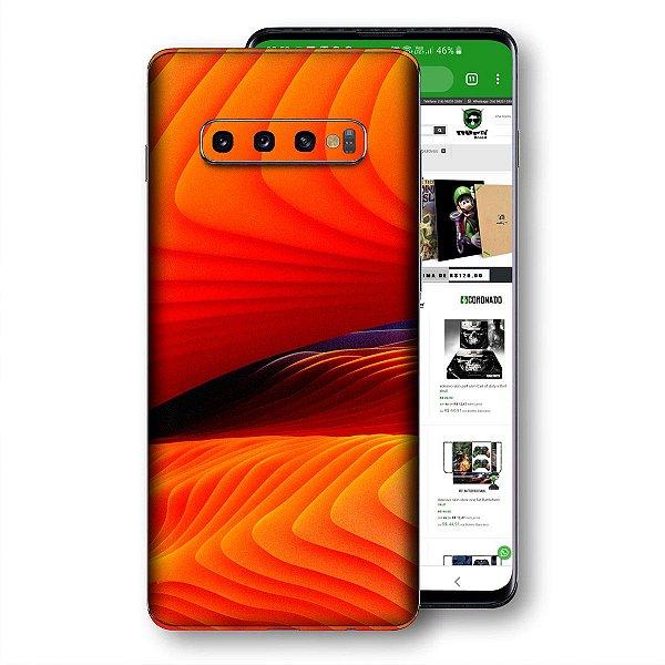Skin adesivo Samsung Galaxy S10 textura 33