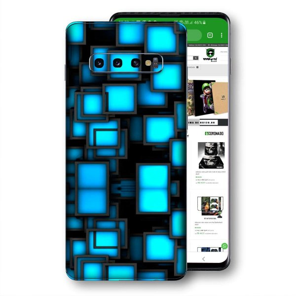 Skin adesivo Samsung Galaxy S10 textura 38