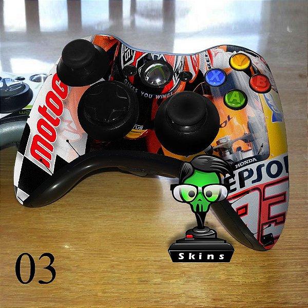 Adesivo de controle xbox 360 Moto GP Honda Repsol