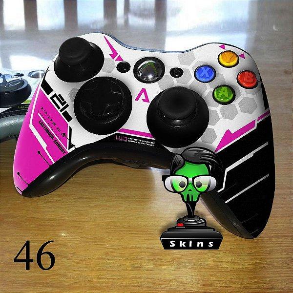 Adesivo de controle xbox 360 Titanfall rosa