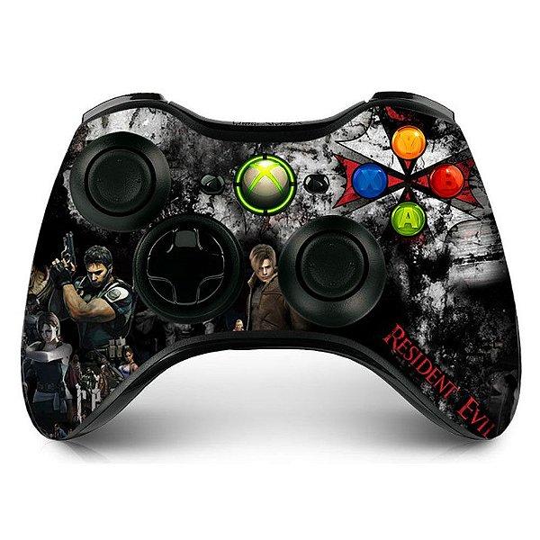 Adesivo de controle xbox 360 Resident Evil Umbrella