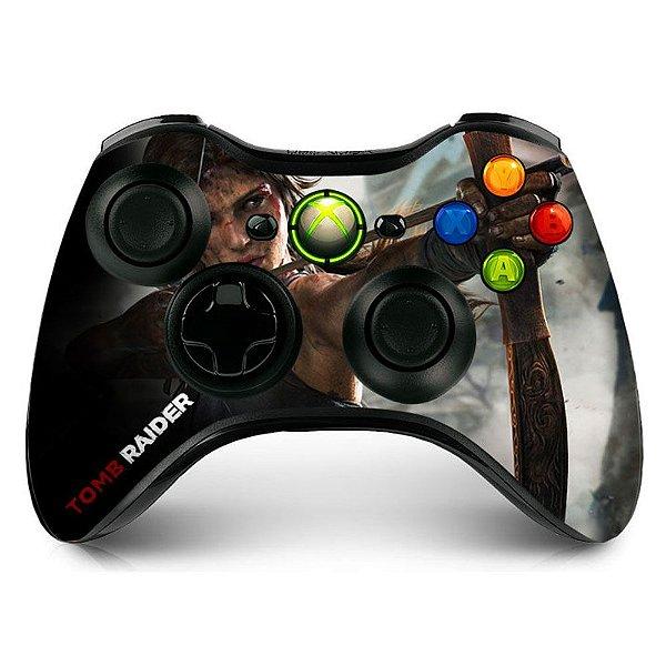 Adesivo de controle xbox 360 Tomb Raider