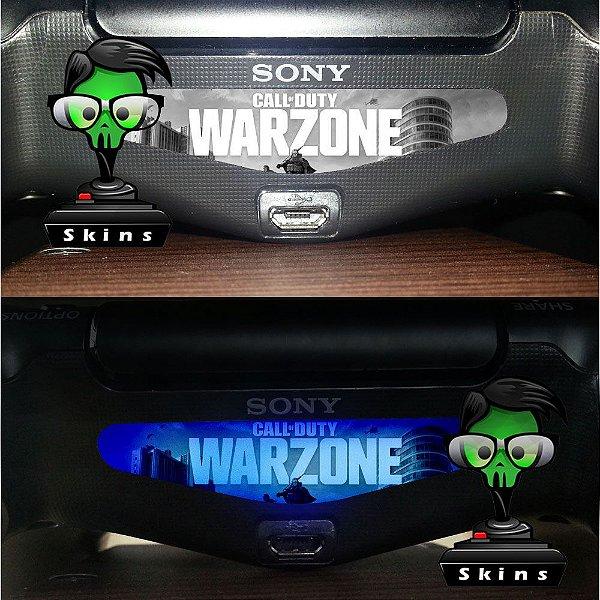 Adesivo lightbar controle ps4 Call of duty Warzone